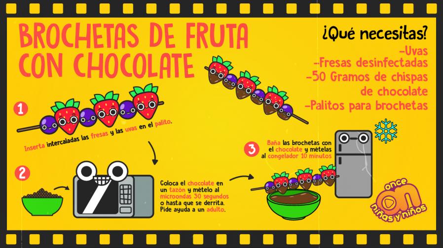 Cine-ONN-Recetas-Brochetas-de-fruta-con-chocolate