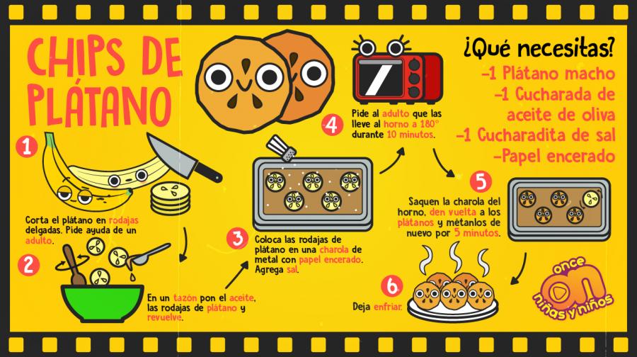 Cine-ONN-Recetas-Chips-de-plátano