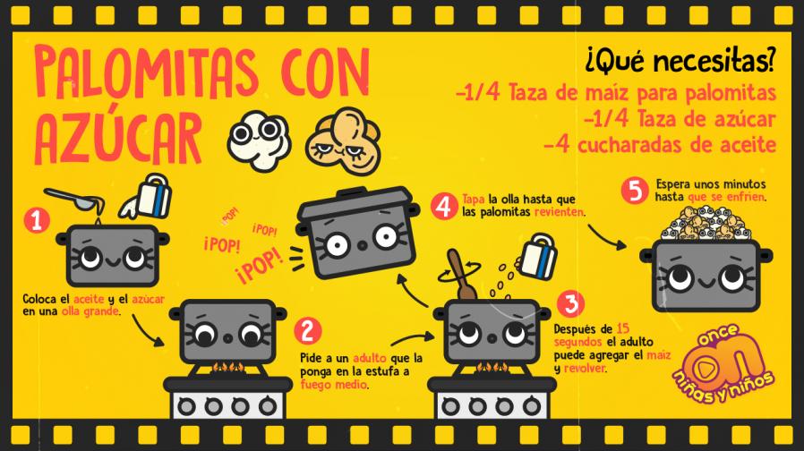 Cine-ONN-Recetas-Palomitas-con-azúcar