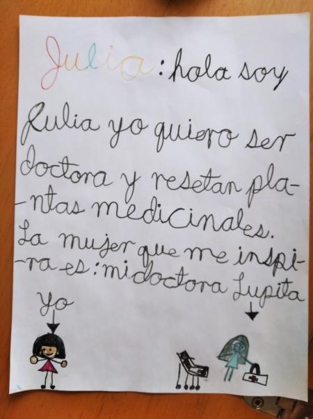 Julia, 7 años, Michoacán