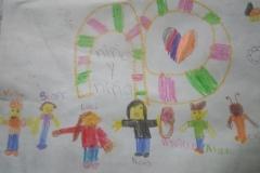 Dafne y Richi, 7 años, Estado de México