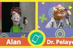 Hasta tuvimos la visita especial del Dr. Pelayo