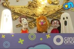 Ya en la FIL Minería, los chicos presentaron una pequeña y muy divertida obra de teatro