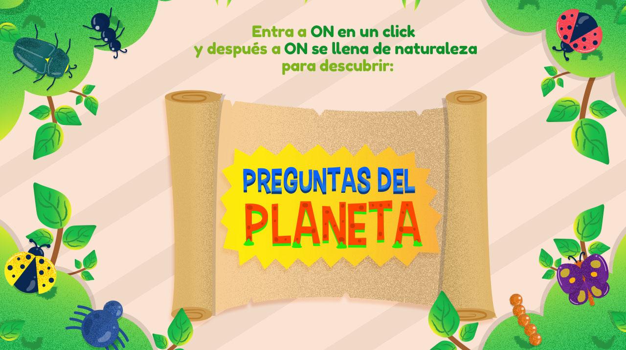 Preguntas del planeta