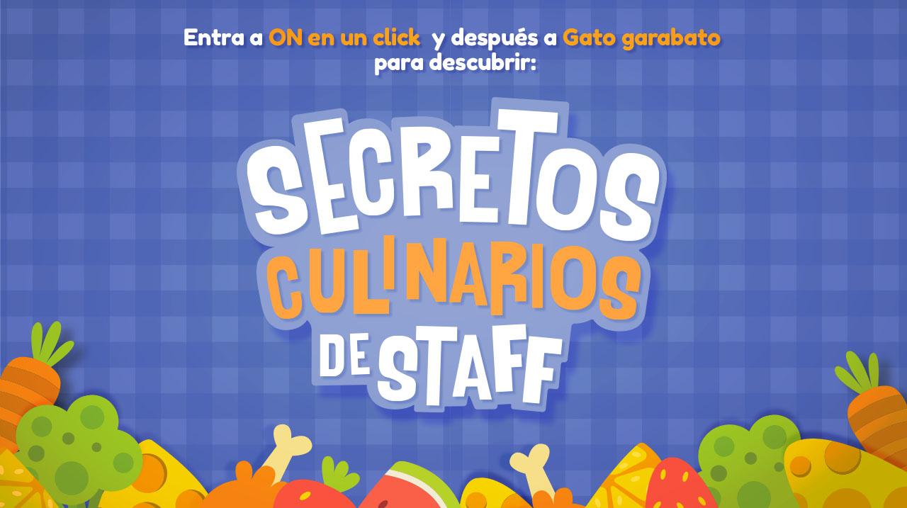 Secretos culinarios de Staff
