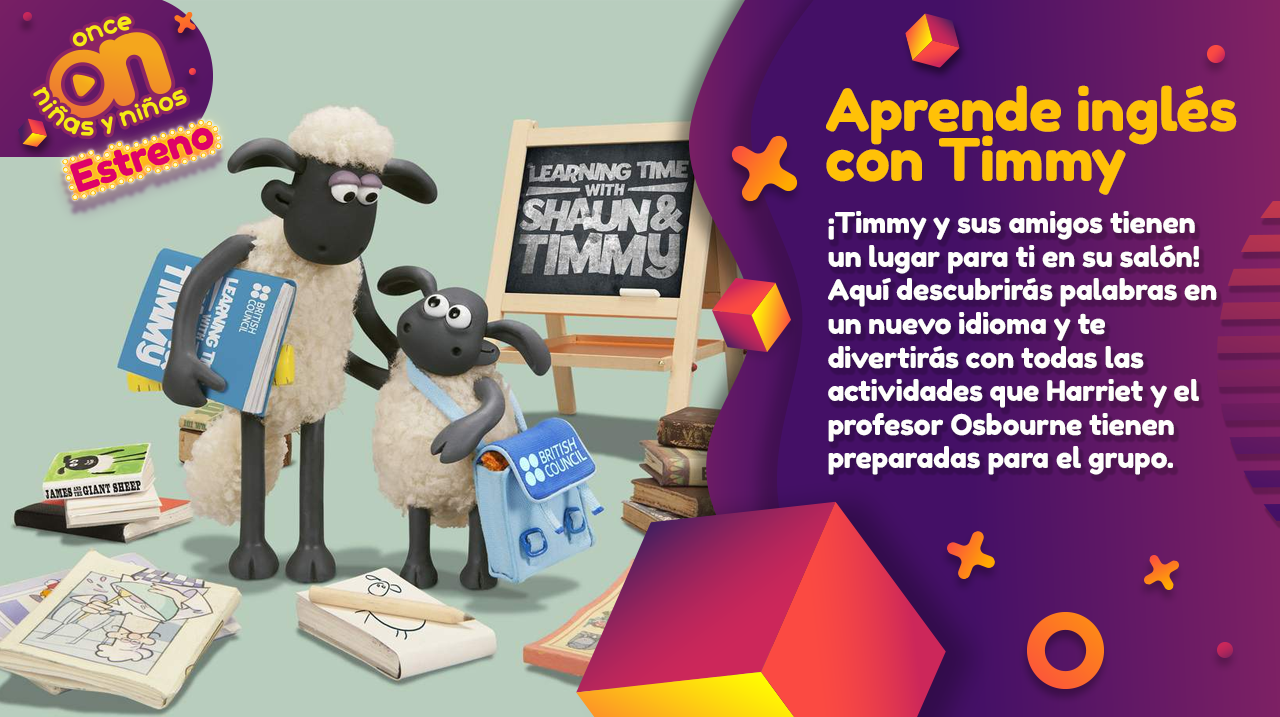 Aprende inglés con Timmy