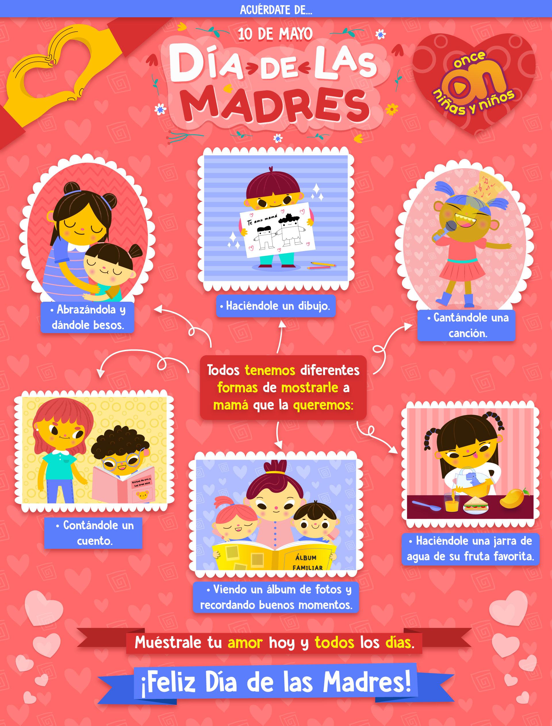 Día de las Madres  Once Niñas y Niños