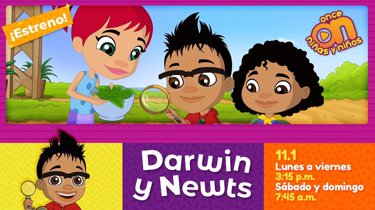 Darwin y Newts