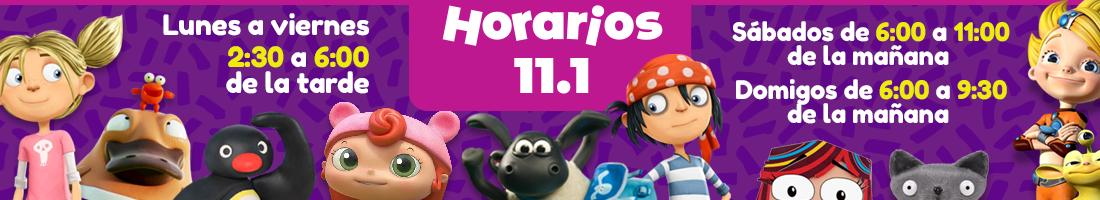 Horarios 11.1